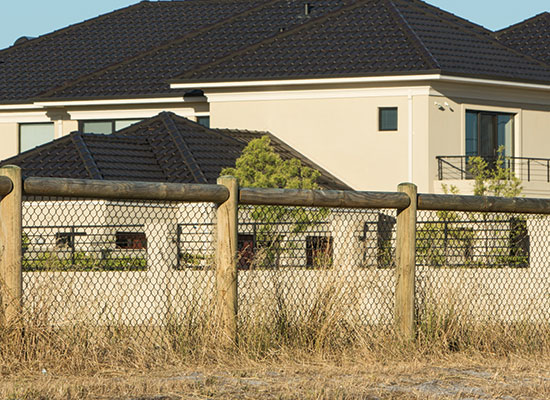 PERMAPole Single Rail Homestead Fencing
