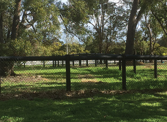 PERMAPole Inspiration |Horse paddock fencing with mesh
