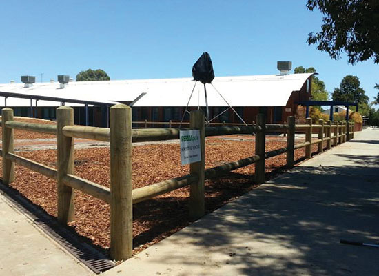 PERMAPole Double Rail Homestead Fencing